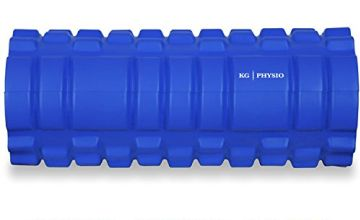 """KG Physio Foam Roller For Deep Tissue Muscle Massage - 13""""x5"""""""