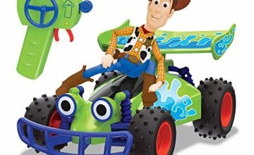 Save on Toy Story 203154001 Disney Pixar 4-RC Buggy with Woody 1: 24 Scale, Multi-Colour and more