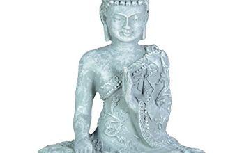 Zen'Light SBM1 grey stone meditation Buddha1 figurine 10 x 5 x 12 cm