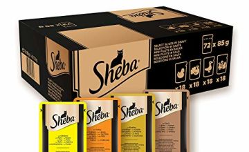 Up to 31% off Whiskas and Sheba wet cat food