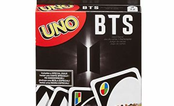 UNO GDG35 BTS Card Game for 7-Year-Olds and Up with 112 Cards
