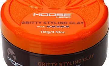 Moosehead Gritty Styling Clay 100g