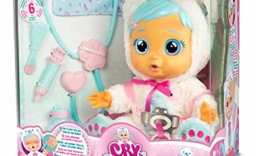 IMC Toys 98206IM Cry Babies Kristal, White Blue