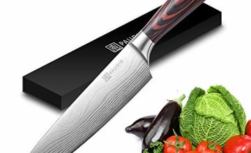 Kitchen Knife - PAUDIN Razor Sharp Chef Knife, Quality High Carbon German Stainless Steel Blade with Comfortable Ergonomic Pakkawood Handle, Cooking Knife Ideal for Home and Restaurant