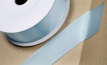 Club Green GROSGRAIN RIBBON DUCK EGG BLUE 10MMX10M, Fabric, 12.1 x 12.1 x 1.54 cm