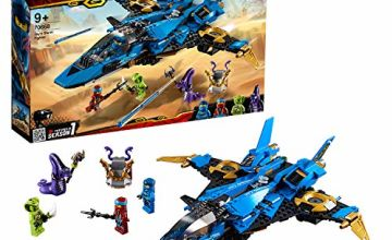 LEGO 70668 Ninjago Legacy Jay's Storm Fighter Building Kit, Colourful