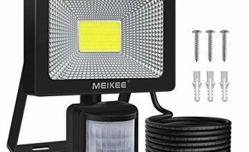 MEIKEE Security Lights with Motion Sensor Outdoor