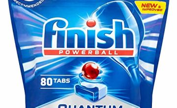 Save on Finish Quantum Dishwasher Tablets, Original Scent, 1 x 80 (80 Tablets) and more
