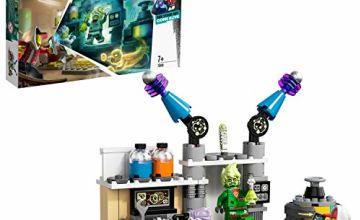 LEGO 70418 Hidden Side J.B.'s Ghost Lab Set, AR Games App, Interactive Augmented Reality Playset for iPhone/Android
