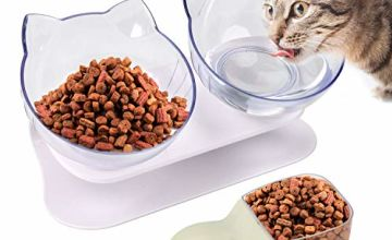 Legendog Cat Bowls,Anti-slip Multi-purpose Pet Feeding Bowl Cat Water Bowl Pet Bowl Cat Feeding Bowl