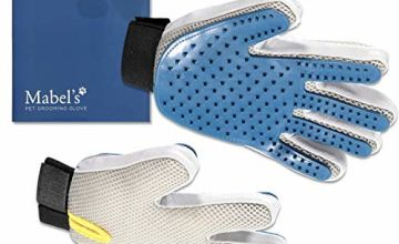 Mabel's Pet Grooming Gloves - Effective Pet Hair Remover - R