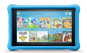 Save £65 on Fire HD 10 Kids Edition - Blue Case (Previous Generation - 7th)