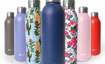 ANSIO Water Bottle,Vacuum Flask & Stainless Steel Water Bottle
