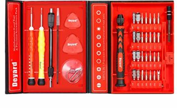 Deyard Precision Screwdriver Set Repair Tools Kit Fixing iPhone Laptop Smartphone MacBook Xbox Watches Glasses with Case