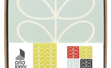 Orla Kiely | Four Linear Stem Coasters | Multi Coloured | Heat Resistant