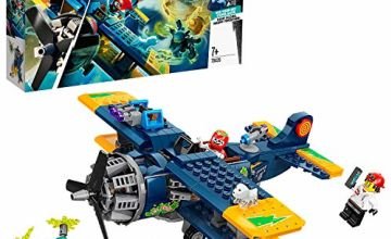LEGO Hidden Side 70429 El Fuego's Stunt Plane Toy, AR Games App, Interactive Multiplayer Augmented Reality Playset for iPhone/Android