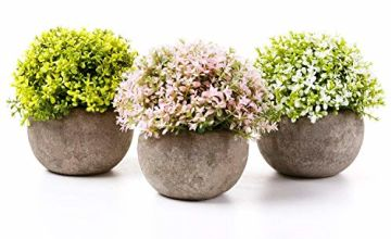 T4U Plastic Artificial Plants Potted Plants Decorative Lifel