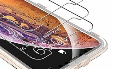UNBREAKcable iPhone Xs Max Tempered Glass Screen Protector