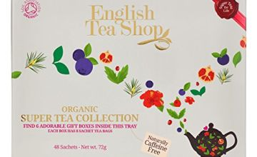 Save on English Tea Shop Organic Super Tea Collection (Pack of 48 Tea Bags) and more