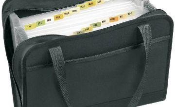 Veloflex 4446880 Office Expander File DIN A4 500-Sheet Capacity 24-Part