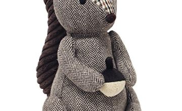 "Riva Paoletti Squirrel Doorstop - Heavyweight Sand Filling - 100% Polyester - 16 x 25 x 13cm (6"" x 10"" x 5"" inches) - Designed in the UK"