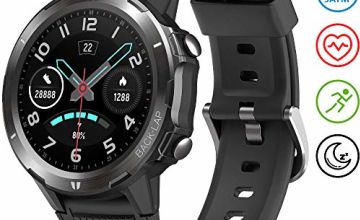 UMIDIGI Uwatch GT Smart Watch 5ATM Waterproof Fitness Tracker with Pedometer Heart Rate Monitor Sleep Tracker Ultra-Long Battery Smartwatch Compatible with Android iOS for Men Women