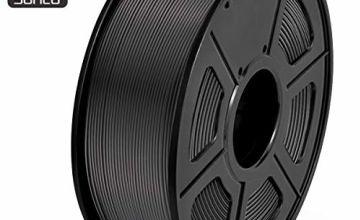 SUNLU 3D Printer Filament PLA, 1.75mm PLA Filament, 3D Printing Filament Low Odor, Dimensional Accuracy +/- 0.02 mm, 2.2 LBS (1KG) Spool 3D Filament