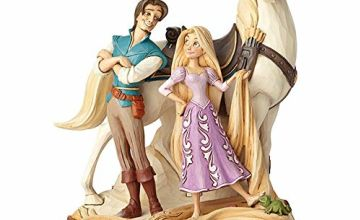 Disney Traditions Live Your Dream Tangled Figurine, Resin Multi-Colour, 15 x 16 x 21cm