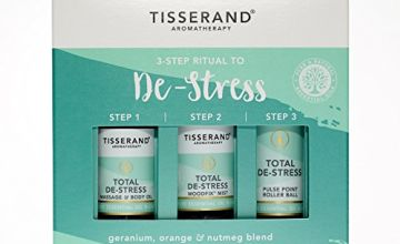 Save on Tisserand Three Step Ritual To De-Stress and more