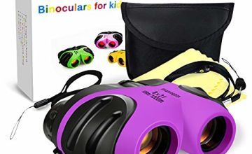 EUTOYZ Compact Shock Proof Waterproof Binocular for Kids - Best Gifts