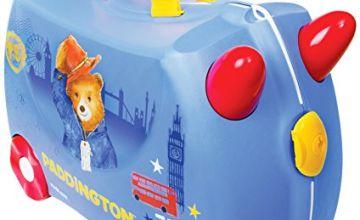 Trunki Children's Ride-On Suitcase & Hand Luggage: Paddington Bear (Blue)