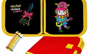toy4kidUK Coloring Toy for 2-6 Years Old Girls,Doodle Book W