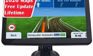 Aonerex Sat Nav for Car Truck Lorry 7 Inch 8GB 256MB GPS Navigation System Pre-installed 2020 UK and EU Maps With Lifetime Free Updates