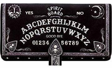 Nemesis Now Spirit Board Embossed Purse 19cm Black, PU, One Size