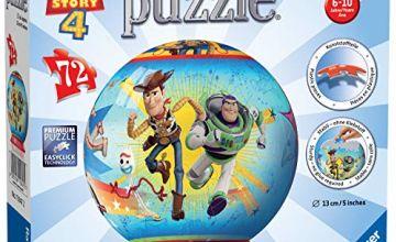 Ravensburger UK 11847 Ravensburger Disney Toy Story 4, 72pc 3D Jigsaw Puzzle, Multicoloured