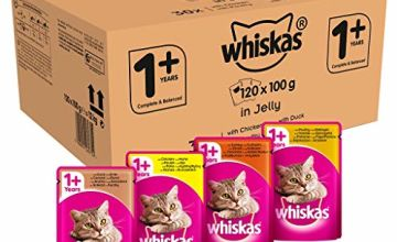 Up to 21% off Whiskas Cat Food Pouches
