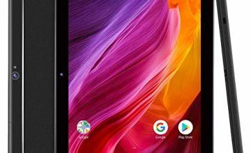 Dragon Touch 10 Inch Tablet, 2GB RAM 16GB ROM Storage, Quad-Core Processor, 10.1 IPS HD Display, Micro HDMI, Android Tablets 5G Wi-Fi, Metal Body - K10 Black