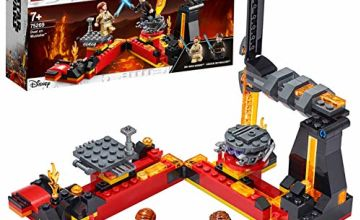LEGO 75269 Star Wars Duel on Mustafar Revenge of the Sith Playset with Anakin Skywalker and Obi-Wan Kenobi Minifigures