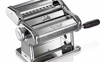 Marcato Atlas 150 pasta machine Chrome,  Silver Wellness