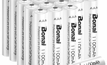 BONAI AAA Rechargeable Batteries, High Capacity 1200 Cycles 1.2V NiMH Rechargeable Battery