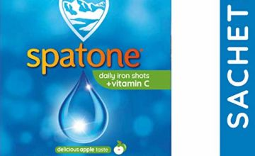 Up to 29% off Spatone Liquid Iron Supplements Original and Vitamin C 42 Sachets