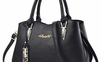 Designer handbags for women, BESTOU Ladies handbags PU leather women bags for work, shopping, date, party, Christmas