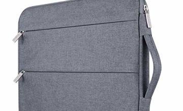Voova Laptop Sleeve Waterproof Case Sleeve Cover Bag Compatible with iPad Pro/MacBook Air/MacBook Pro/Pro Retina/Notebook Computer/Tablet PC/Ultrabook