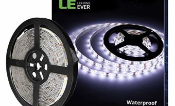 LE Waterproof 12V LED Strip Light, 2835 LED Tape for Home and Garden