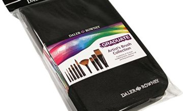 Daler Rowney Graduate Short Zip Case 10 Brushes