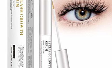 MayBeau Eyelash Growth Serum,Natural Brow Lash Enhancer(5ML),Nourish Damaged Lashes and Boost Rapid Growth for Any Kind of Lash and Brow in 20 Days