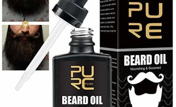 Beard Oil, Beard Growth Oil, Beard Care Oil, Beard Oil Conditioner, Helps To Condition, Hydrate & Moisturise | Reduce Itching, Dandruff and Helps with Beard Growth | Beard Grooming Kit