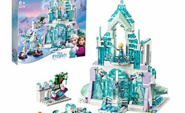 LEGO 43172 Disney Frozen Magical Ice Palace Princess Elsa and Anna Mini Dolls Playground