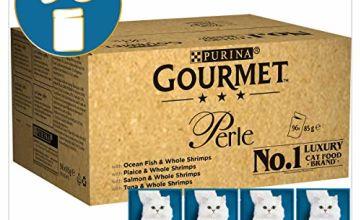 35% off Gourmet Perle Ocean Delicacies in Gravy, 96 x 85 g