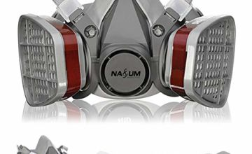 Respirator NASUM Dust Mask Half Mask for Painting, Dust, Particulate, Chemicals, Machine Polishing, Welding and Other Work Protection(Ⅲ)